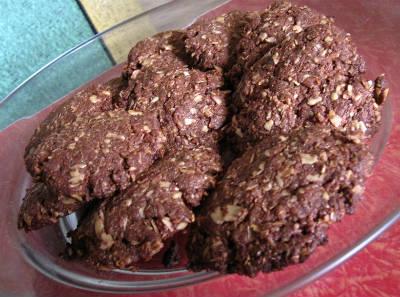 chocolate oats cookies - Chocolate Oats Cookies