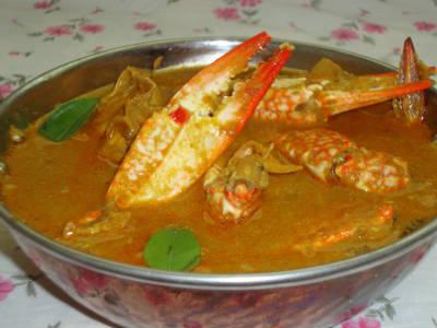crab kuzhambu