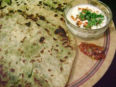 green peas stuffed chapati - Green Peas stuffed Chapati