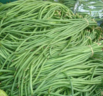 long beans karamani - Karamani (Long Beans) Poriyal