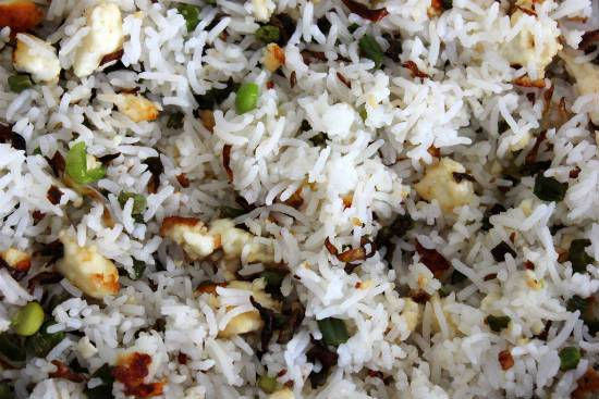 paneer fried rice1 - Paneer Fried Rice