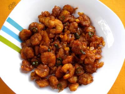 prawn chilli fry - ப்ரான் சில்லி ஃப்ரை