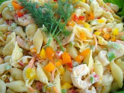 shrimp pasta salad - Shrimp and Pasta Salad
