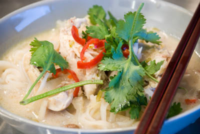 thai chicken noodle soup - Thai Chicken Noodle Soup