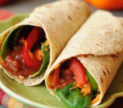 veggie wrap - Veggie Wrap