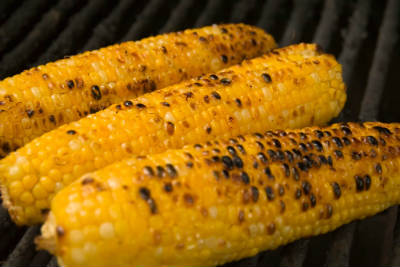 barbecued corn on the cob - Barbecued Corn on the Cob