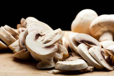 button mushrooms - Mushroom Pepper Masala