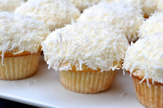 coconut cupcakes1 - Coconut Cupcakes