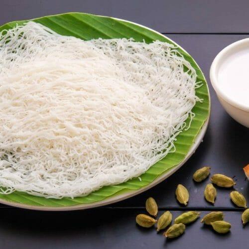 Idiyappam Coconut Milk