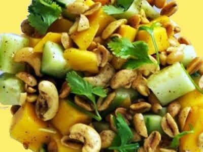 mango cashew salad - Mango and Cashewnut Salad