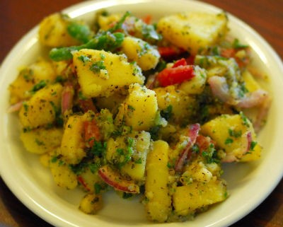 mediterranean potato salad - Mediterranean Potato Salad