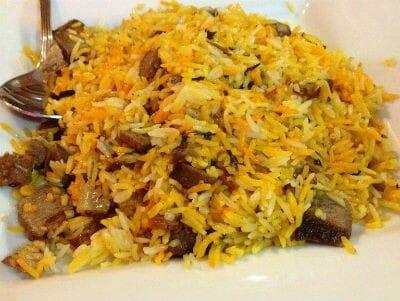 mutton pulao - மட்டன் கீமா புலாவ்