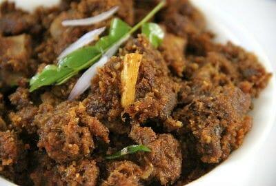 mutton varuval - மதுரை மட்டன் வறுவல்