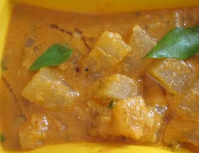 pumpkin sambar