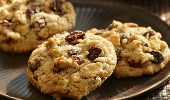 raisin oat cookies1 - Raisin Oat Cookies