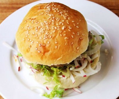 Sesame Burger