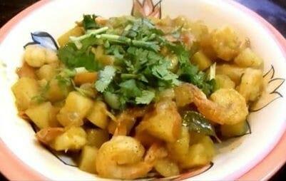 shrimp potato fry
