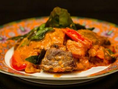 thai duck curry - Thai Duck Curry with Tamarind
