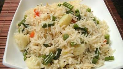 veg pulao - Nawabi Veg Pulao