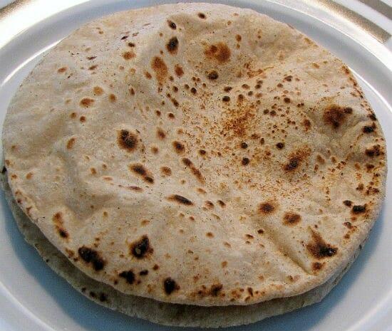 chapati - ப்ரோகோலி ரொட்டி