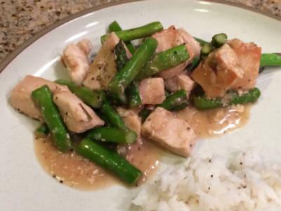 chicken asparagus stir fry - Chicken and Asparagus Stir-Fry