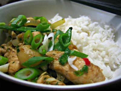 Chicken Ginger Stir-Fry