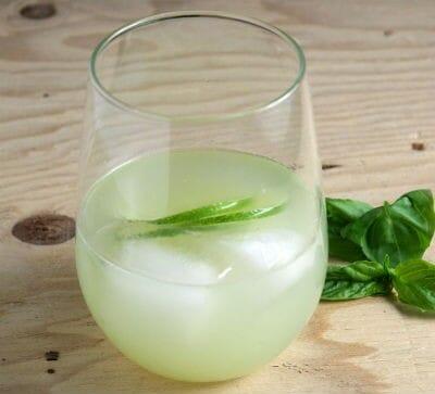 Cucumber Basil Cooler