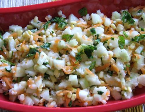 Cucumber Moong Dal Kosambari