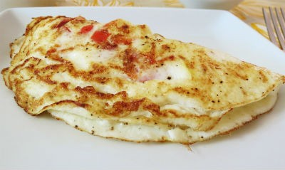egg white omelette - எக்வைட் ஆம்லெட்