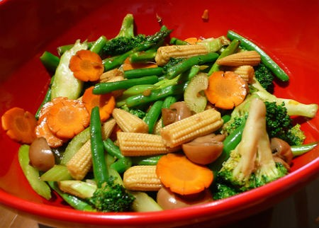 fried vegetables - ஃப்ரைடு வெஜிடேபிள்
