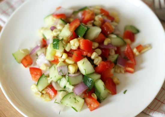 grilled corn salad - Grilled Corn Salad