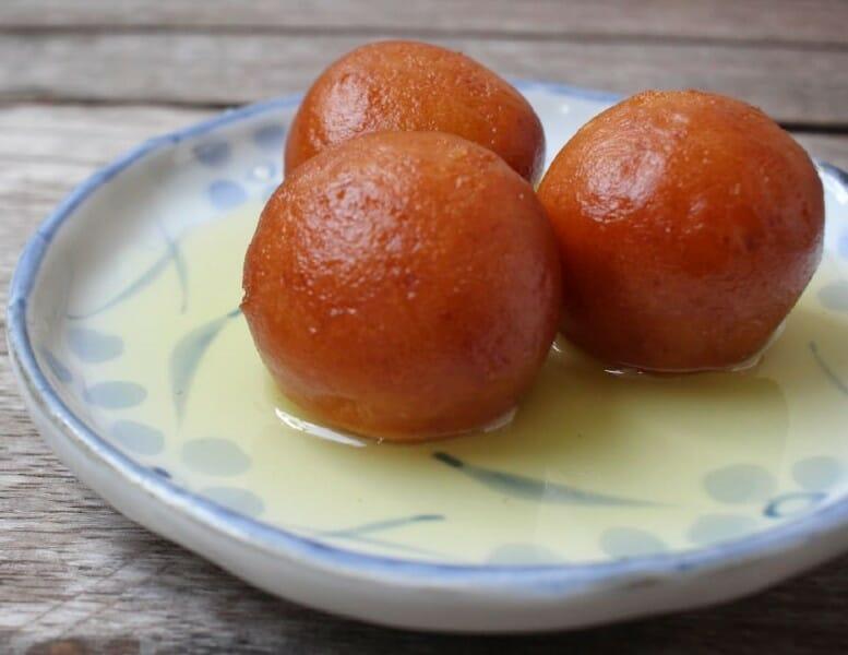 gulab jamoon - குலாப் ஜாமூன்