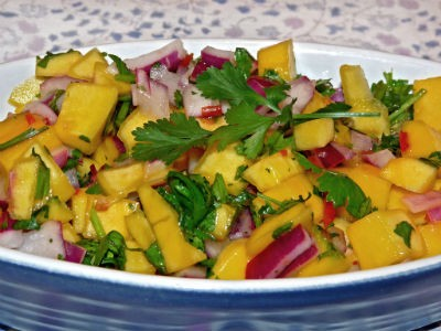 Mango Onion Salad