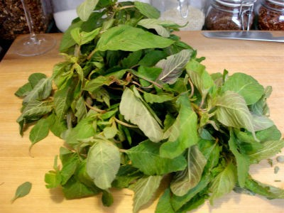 Mulai Keerai (Amaranth Leaves)