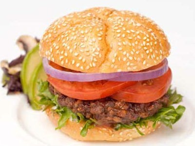 rajma burger - Rajma (Red Kidney Beans) Burger