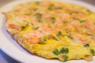 shrimp omelette - Shrimp Omelette