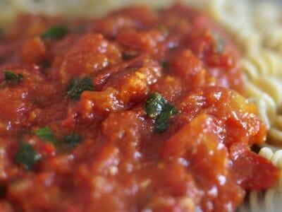 tomato pasta sauce - Tomato Pasta Sauce