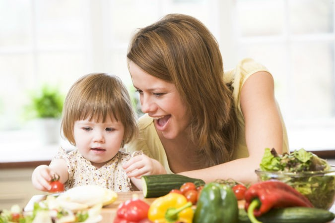 child eating vegetables - How to Get Your Kids to Eat More Vegetables