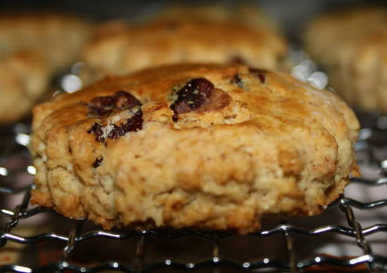 cranberry oat scones - Cranberry Oat Scones