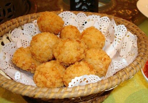 Fried Radish Balls