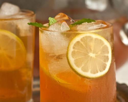 iced tea - Black Ginger Iced Tea