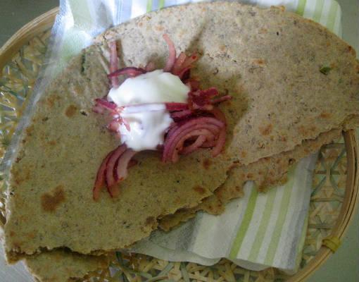 kara chapati - Kara (Spicy) Chapati