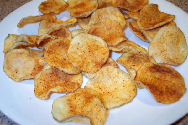 microwave potato chips - Microwave Potato Chips