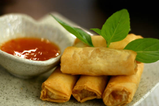 spring rolls - 15 Popular Indian Appetizers and Snacks