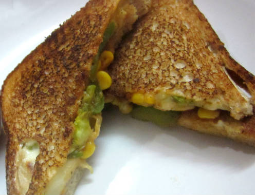 sweet corn sandwich - Sweet Corn Sandwich