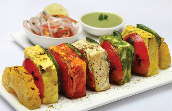 tandoori paneer tikka - 15 Popular Indian Appetizers and Snacks