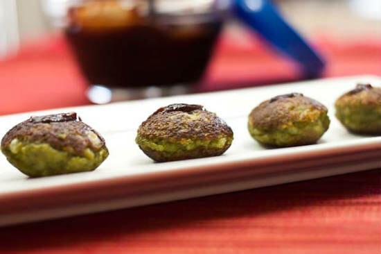 Vegetarian Hariyali Malai Kebab