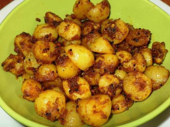 Baby Potato Chilli Fry