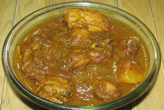 bengali chicken curry - பெங்காளி சிக்கன் கிரேவி