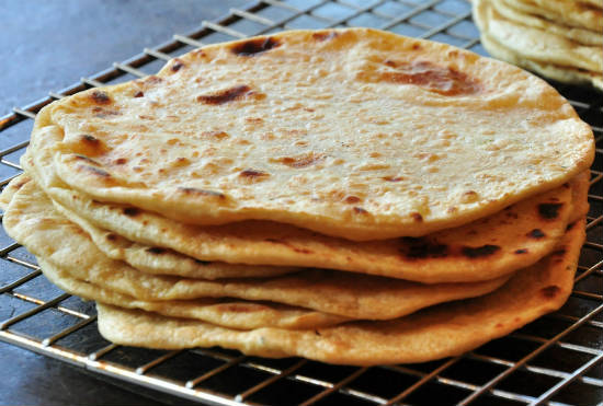 chapatis - Potato Chapati